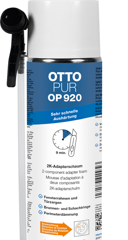 OTTO 2K-Montageschaum OP 920, 400 ml Dose