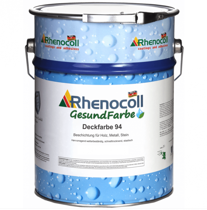 RHENOCOLL Deckfarbe 94 weiß RAL 9010, 1 Liter